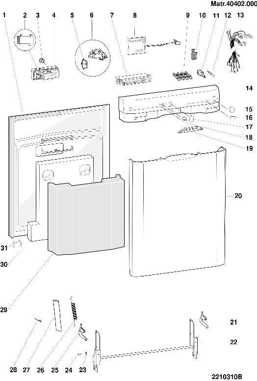 Hotpoint Dishwasher Door Spring C00094111 By Indesit