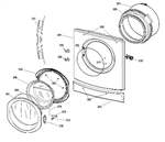 Hello David,  please see the link below http://www.yourspares.co.uk/parts/ys3216/indesit-washing-machine-door-shield-C00115528.aspx I have also inserted an exploded diagram to show the positioning of this part