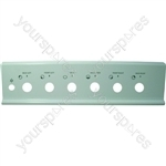 Electrolux White Silk-Screened Control Panel Fascia