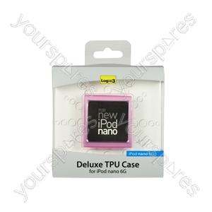 iPod Nano 6g -deluxe Tpu Case - Pink