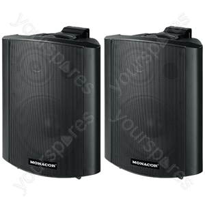 Active Cabinets - Active 2-way Stereo Speaker Systems, 2 x 15 w