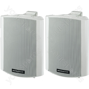 Active Cabinets - Active 2-way Stereo Speaker Systems, 2x15w