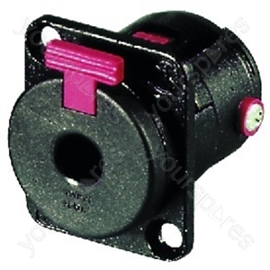 6.3mm Chassis Jack - Neutrik 6.3 mm Panel Jack, Stereo