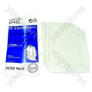 Electrolux Filter - Pack of 3 (EF43C)