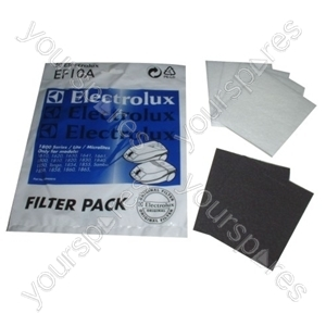 Electrolux Filter - Pack of 6 (EF10A)
