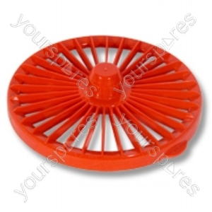 Post Filter Lid Assembly Red Dc04