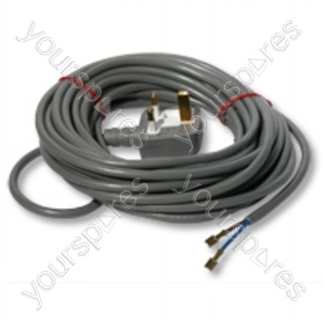 Powercord Assembly Silver