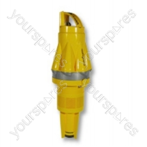 Cyclone Assembly Silver Yellow