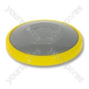 Dyson Rear Steel Yellow Vacuum Wheel