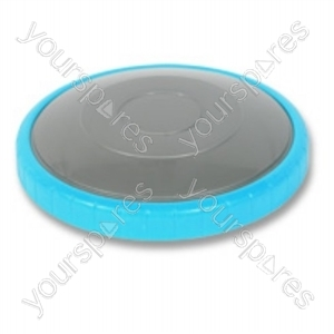 Dyson Rear Steel Turquoise Vacuum Wheel
