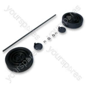 Dyson Assembly Kit Dark Steel Vacuum Wheel