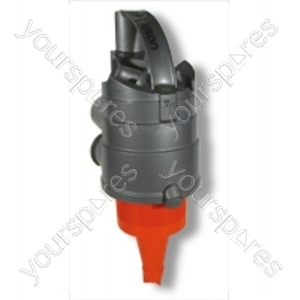 Cyclone Top Assembly D Steel/orange Dc04