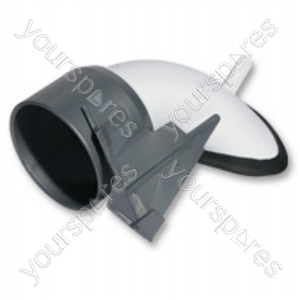 Cyclone Inlet Assembly Steel White