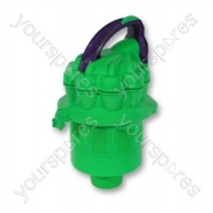Cyclone Top Assembly Purple/lime Dc08