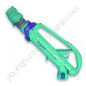 Wand Handle Assembly Arc Green/lav