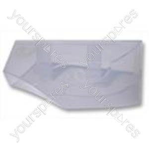 Soap Tray Front Cover White