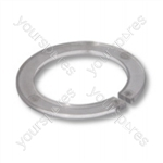 Inlet Swivel Cap White