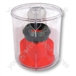 Dyson Bin Assembly Red