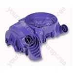 Upper Motor Cover Blue Dc08