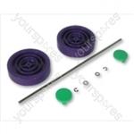 Dyson Assembly kit Purple/lime Vacuum Wheel