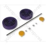 Dyson  Assembly Kit Purple/yellow Vacuum Wheel