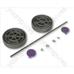 Dyson Assembly Kit Grey/lavender Vacuum Wheel