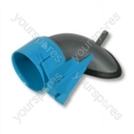 Cyclone Inlet Steel/turquoise