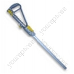 Wand Handle Steel Yellow