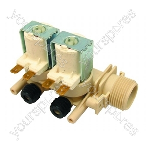 Indesit Washing Machine Solenoid Dual Water Valve