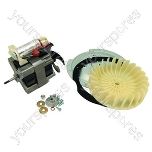 Hotpoint Dryer Fan and Motor Assembly