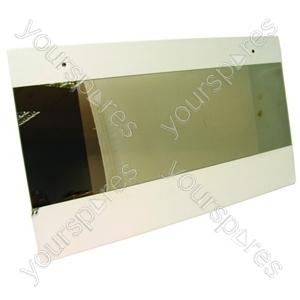 Hotpoint Main oven door glass Spares