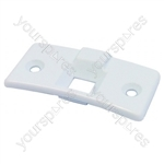 Indesit White Washing Machine Door Latch Cover