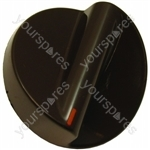 Indesit Brown Timer Control Knob