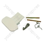 Indesit SGE12XUK Washing Machine Door Handle Kit