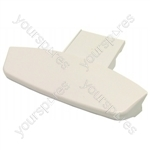 Indesit White Washing Machine / Tumble Dryer Door Handle