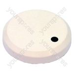 New World White Hob Control Knob