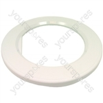 Hotpoint AQUARIUS Door trim surround white (Remote type) laundry & t/d 9336 9335 9345 9385 9555 9546 9545 9585 9556 04-Z82] 56-S33 Spares