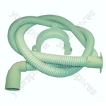 Indesit Dishwasher Long Drain Hose and Elbow - 1.9 Metre