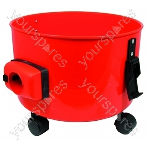 Tank Red Qualvac