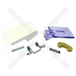 Servis White Tumble Dryer Door Handle Kit