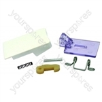 Servis EUROTECH Washing Machine White Door Handle Kit