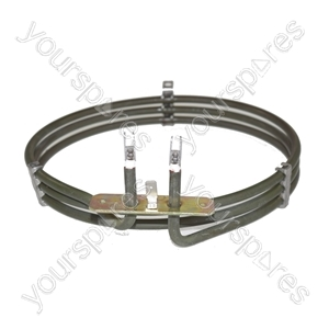Homark Replacement Fan Oven Cooker Heating Element (2500w) (3 Turns)