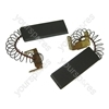 Washing Machine Motor Carbon Brushes x 2 For Hotpoint, Indesit, Creda