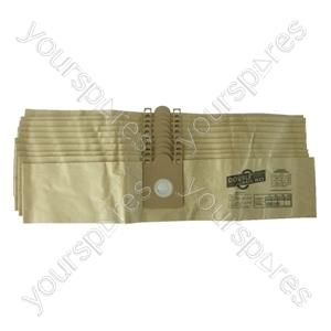 Nilfisk Gd110 Vacuum Cleaner Paper Dust Bags