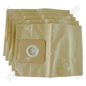 Nilfisk Gm200 Vacuum Cleaner Paper Dust Bags