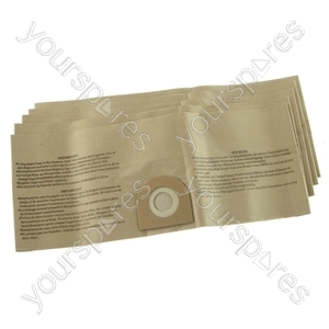 Vax Cannister Vacuum Cleaner Paper Dust Bags