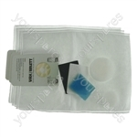 Vax Upright Vacuum Cleaner Dust Bags + Filters