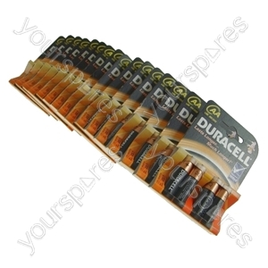 Duracell AA Alkaline Batteries 17 Packs of 4 Dated 2017 Clearance